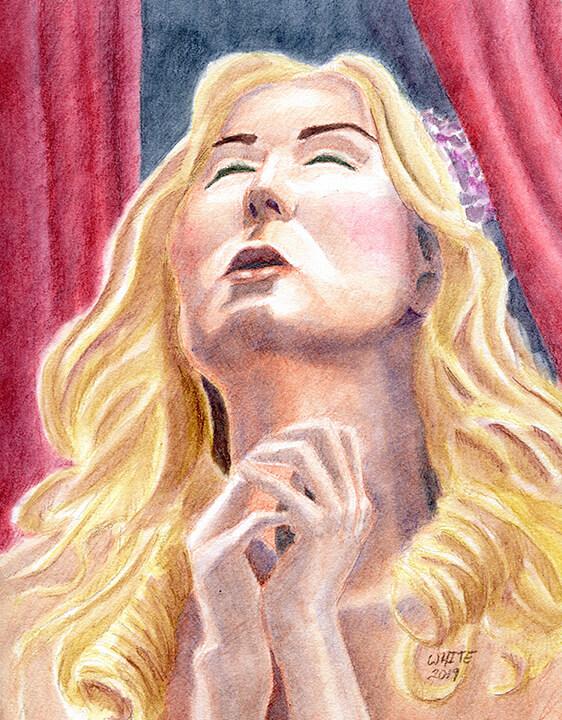 Portrait of St. Cecilia